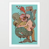 but in my heart it was so real Art Print