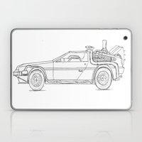 Great Scott! It's a DeLorean! Laptop & iPad Skin