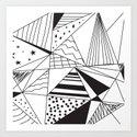 Triangle Dream Art Print