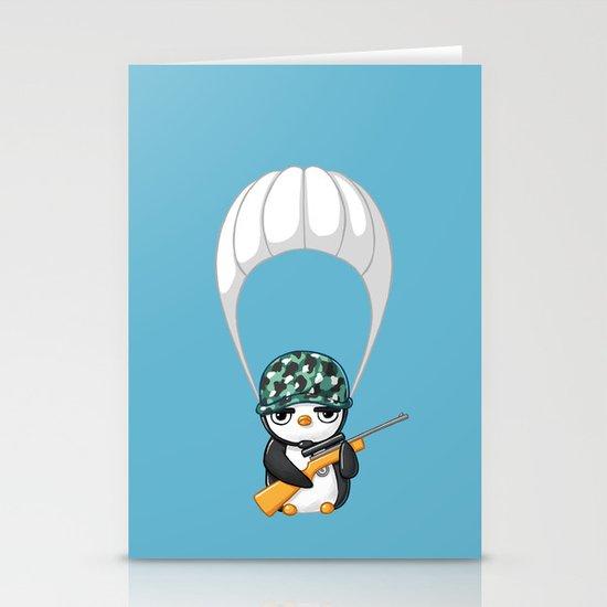 Commando Stationery Card