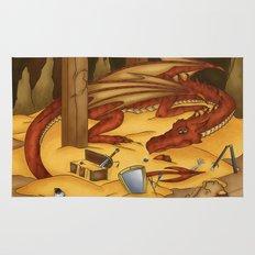 Smaug, the last dragon Rug