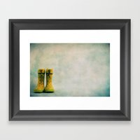 The way is the destination Framed Art Print