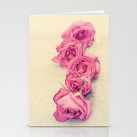 Dusky Roses Stationery Cards