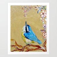 Spring Songbird  Art Print