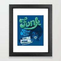 FUNK - ALWAYS KEEPS ME S… Framed Art Print