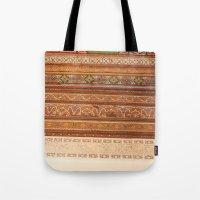 Moroccan Palace Patterns Tote Bag
