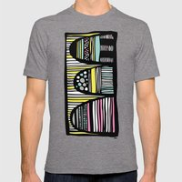 The Hills are Alive Mens Fitted Tee Tri-Grey SMALL