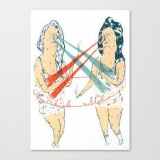 Subtle Duel Canvas Print