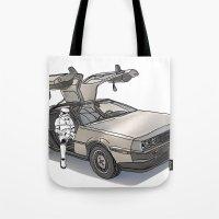 Stormtroooper In A DeLor… Tote Bag