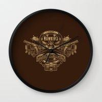 Hawkins Monster Hunting Club Wall Clock