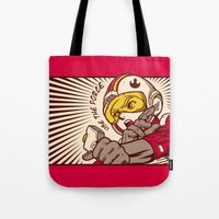 Go, Red Five, Go! Tote Bag