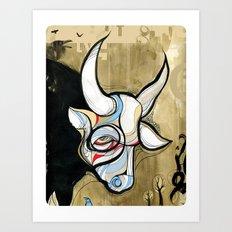 Gaur Art Print