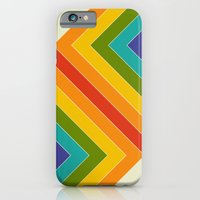 iPhone & iPod Case featuring Rainbow Bend by Krystal Nicole