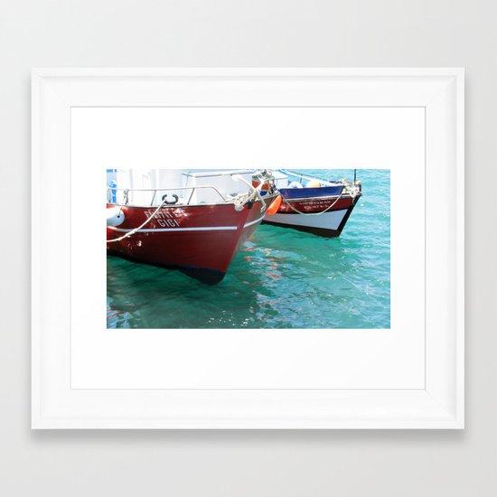 Machico Framed Art Print