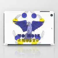 No More Ghosts - Glaucous Macaw iPad Case