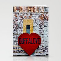 Buffalove Color Stationery Cards