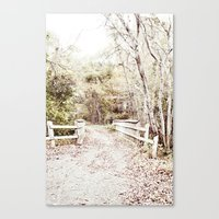 To Grandmother's House Canvas Print