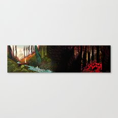 Watership Down (II) Canvas Print