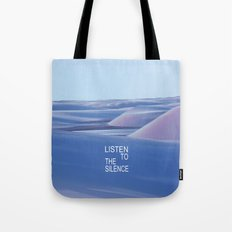 Listen to the Silent #3 Tote Bag