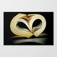 For the Love of Reading Canvas Print