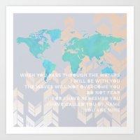 Mundo Art Print