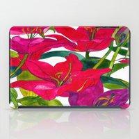 Pink Lilies iPad Case