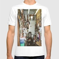 Search & Destroy Mens Fitted Tee White SMALL