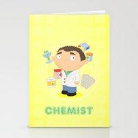CHEMIST Stationery Cards