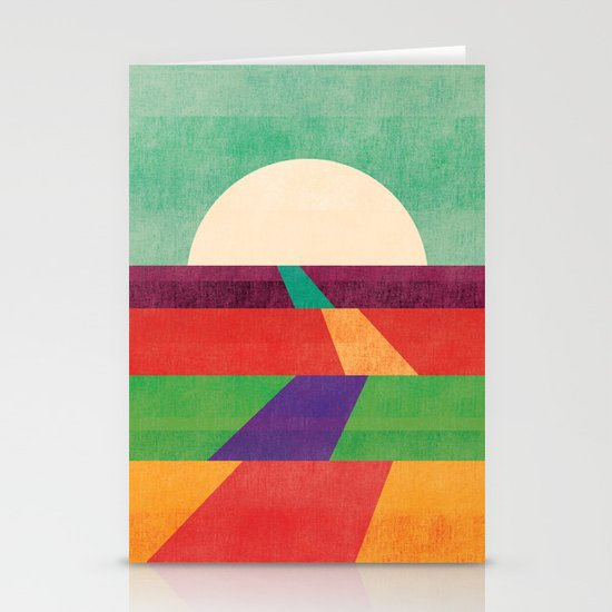 The path leads to forever Stationery Card