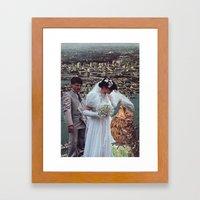 Collage #40 Framed Art Print