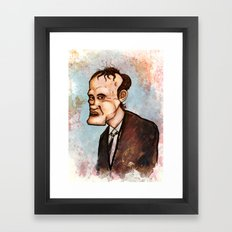 Quentin Tarantino Framed Art Print