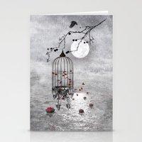 Le Vent Nous Portera ...… Stationery Cards