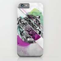 iPhone & iPod Case featuring Le tigre by Carolina Nino
