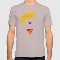 SUPERGIRL Mens Fitted Tee Cinder SMALL