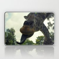 Giraffes Are Silly. Laptop & iPad Skin