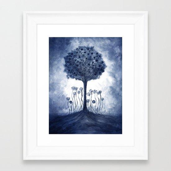 Energy from the tree Framed Art Print