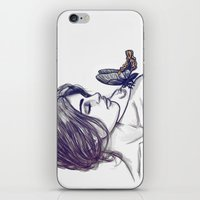 If Thou Must Love Me iPhone & iPod Skin