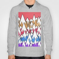 Mountains of colour  Hoody
