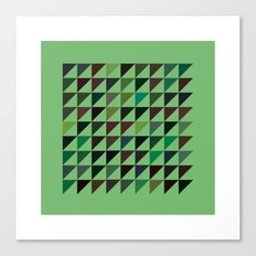 #71 Flags – Geometry Daily Canvas Print