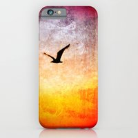 iPhone & iPod Case featuring Flight at Dawn by Rendog1977
