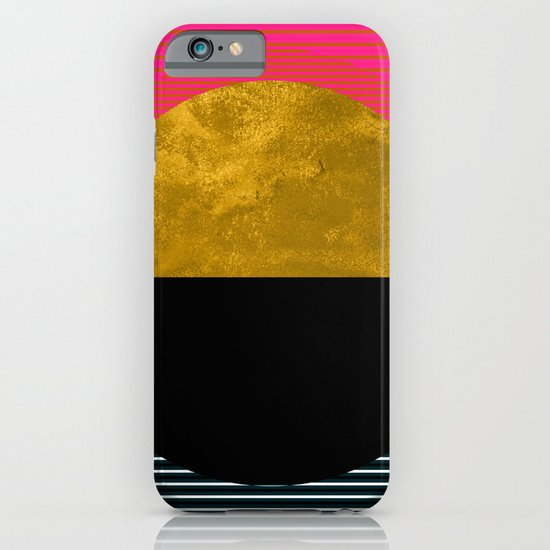 Abstract Sunset iPhone & iPod Case