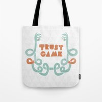 Trust Game. Tote Bag