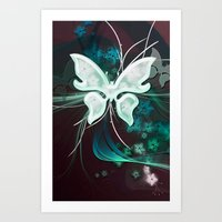 BEAUTY BUTTERFLY 2 Art Print