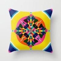 Compass, Palette 1 Throw Pillow