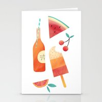 Summatime Stationery Cards