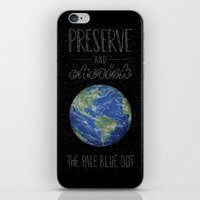 Pale Blue Dot iPhone & iPod Skin