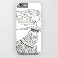Windy Girl iPhone 6 Slim Case
