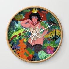 The Lizard Queen Wall Clock