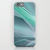 iPhone & iPod Case featuring Blue Green Agave Attenuata by Bel Menpes