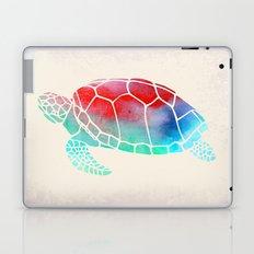 Watercolor Turtle Laptop & iPad Skin